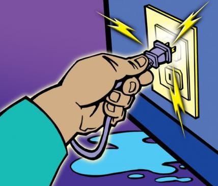 Biện pháp đề phòng nguy cơ rò điện do ngập nước