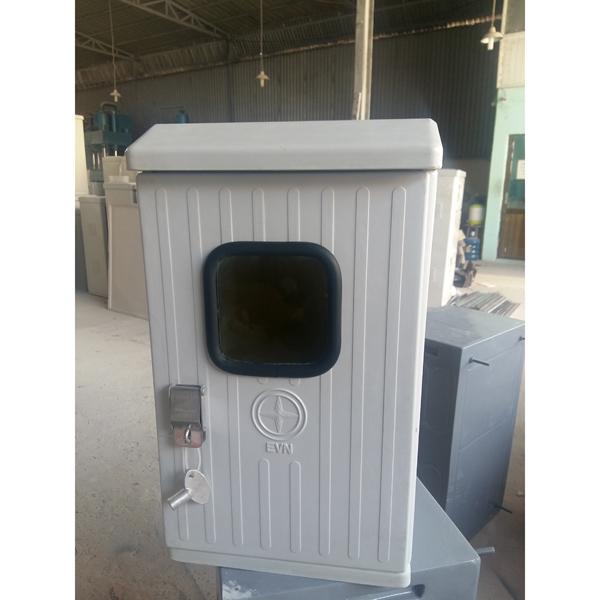 Tủ điện kế composite có mái 300x500x200 mm
